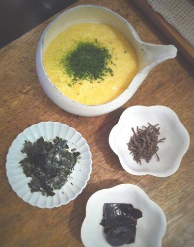大和芋と佃煮