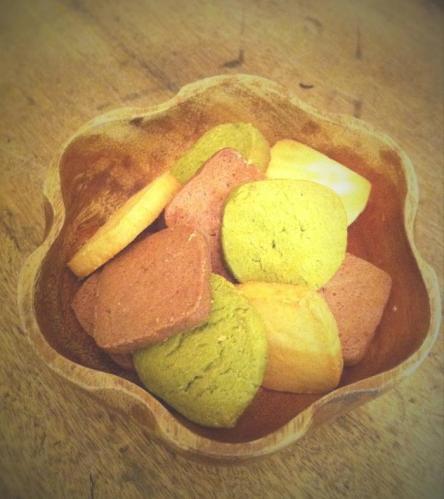 3色クッキー