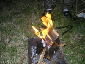 22焚き火