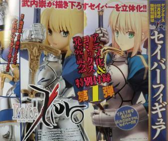 ヤングエース 2011年 09月号 Fate (7)