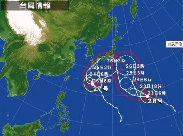 2013年10月23日 台風n