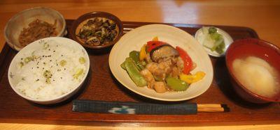 豚バラ肉の中華炒め2