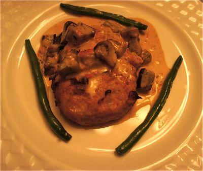 鶏肉ハンバーグ