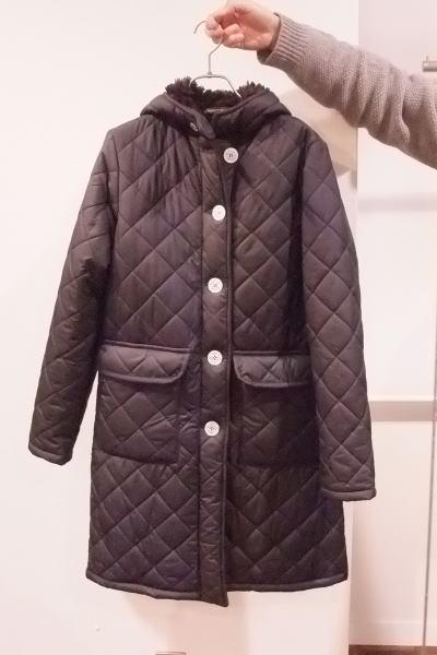 マッキントッシュのキルティングコート