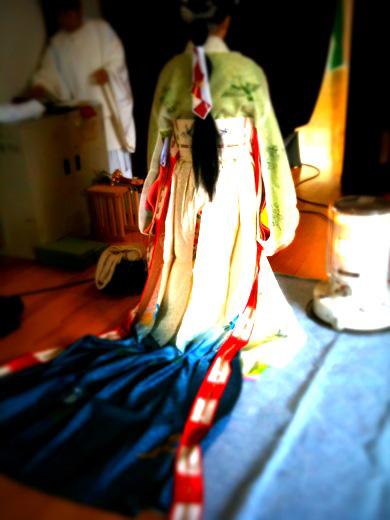 浦安の舞本装束