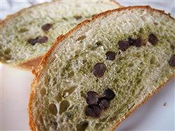 抹茶マーブルパン