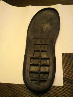 靴底 修理3