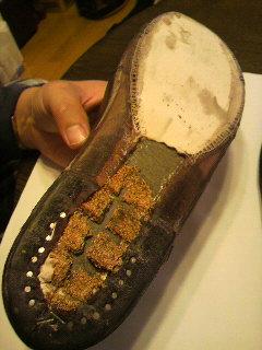 靴底 修理4
