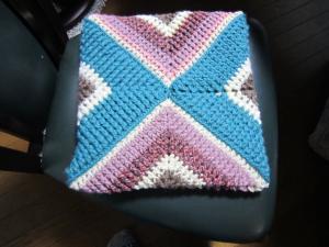 1.毛糸の座布団②