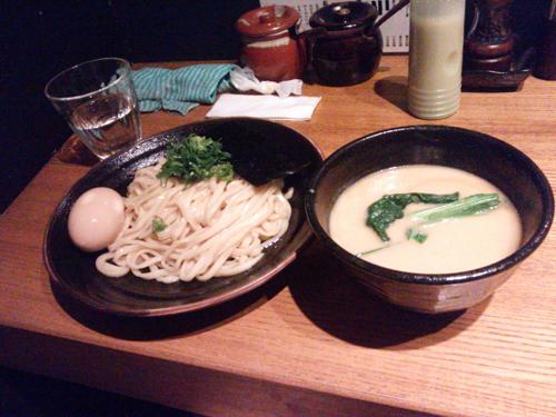 雲丹つけ麺