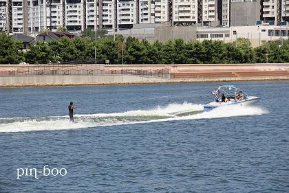 9.4水上スキー1