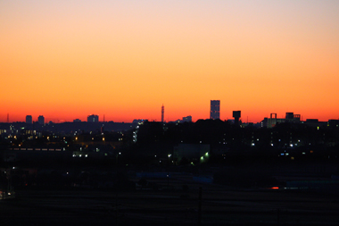 01夜明け