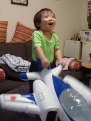 飛行機ぷーん