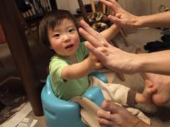 手と手、足と足