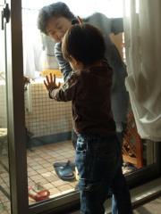 窓ふきお手伝い