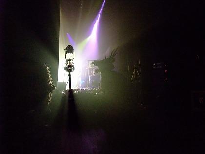舞台袖からの光景