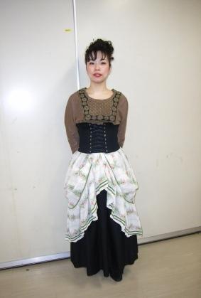 カヴァレリア・ルスティカーナに出演した智恵さん