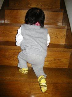 階段登れるのよ♪
