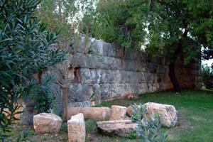 ヘレニズム時代の神殿跡