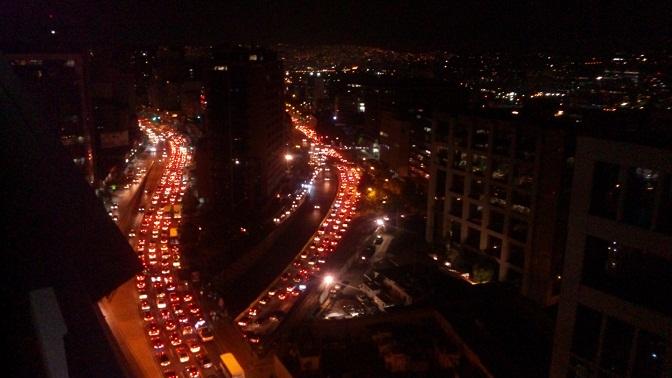 カラカス夜景