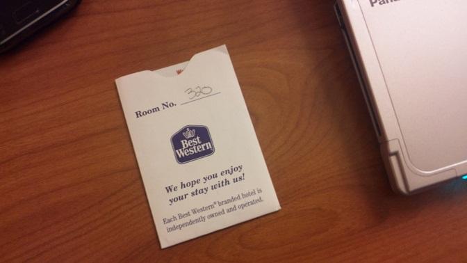 ベストウェスタン部屋番号