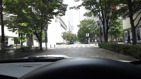 駐車場近く