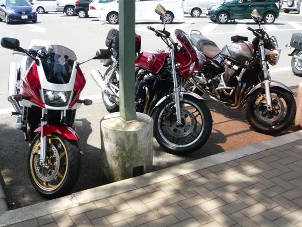本日のバイク車両