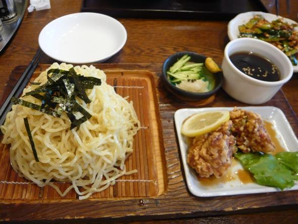 冷やしつけ麺「匠」醤油味
