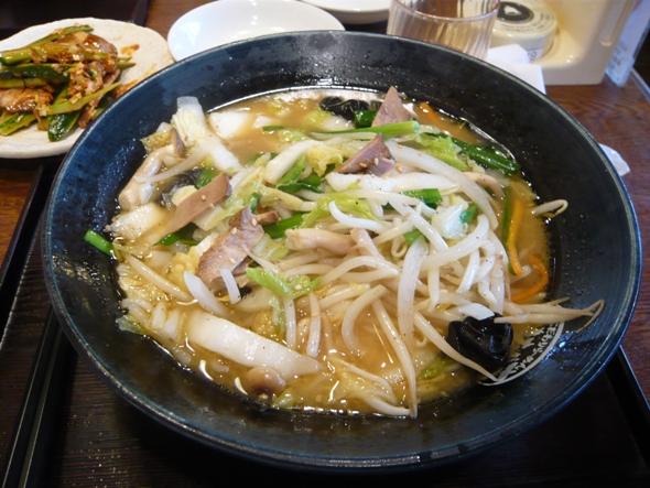 野菜たっぷり味噌タンメン