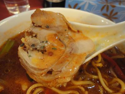 トマトスパイシー麺 叉焼@アジアンラーメン チャナ姫