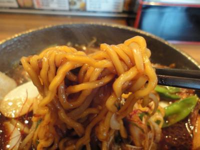 特製 辛味噌 黒(ブラック) 麺@らあめん新さん