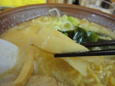味噌ラーメン メンマ@味の千龍さん