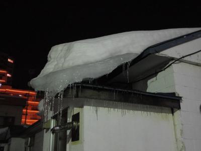 落雪落氷注意!!