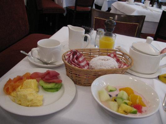 ベルリンの朝食