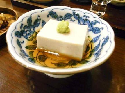 10-1-9夜 蕎麦豆腐
