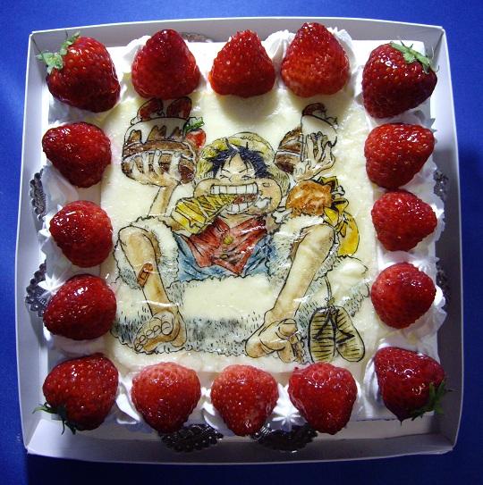 luffy cake