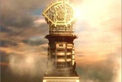 光輝く、ともだちタワー