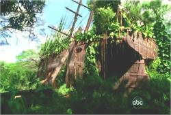ジャックがリチャードに連れて行かれた廃墟の船