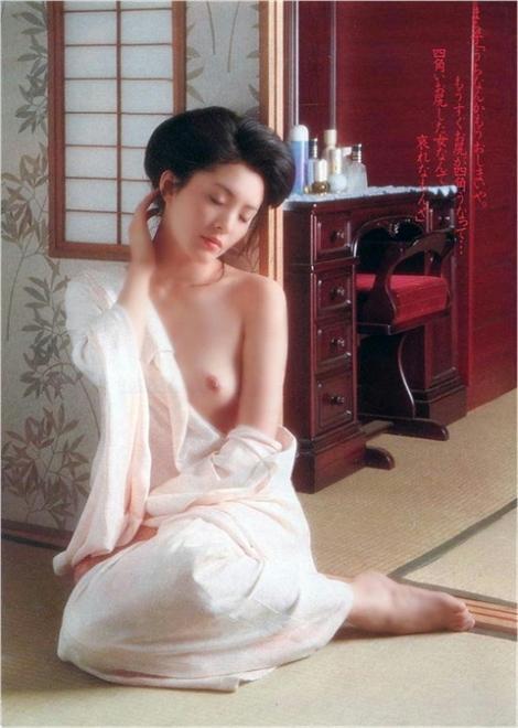 松坂慶子、某グラビア誌ヌードその二