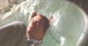 バスたぶの水の中に・・