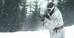 バーチャルゲーム。雪山での銃撃戦へ。