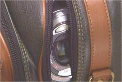 ミキが見つけた盗撮用のカメラ