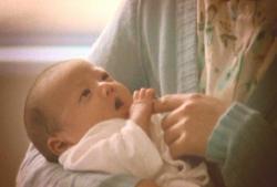 生まれたばかりの愛美