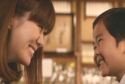 にっこり微笑む二人