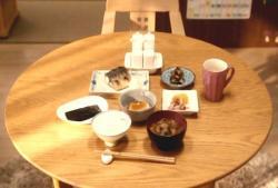 安兵衛が作った、和風朝食