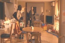 ひろ子ママの部屋に入った安兵衛