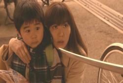 友くんを守る、ひろ子ママ