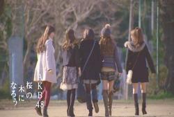 AKB48桜の木になろう END