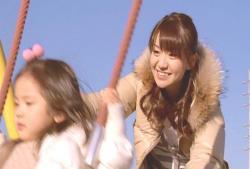 二歳半の娘と遊ぶ、優子ママ