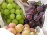 葡萄と新米